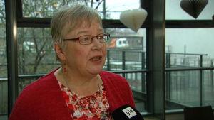 Berit Onninen, examensansvarig lektor för hälsovårdsutbildningen på Arcada.