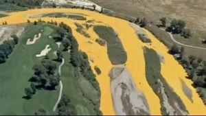 Utsläpp från guldgruva i floden Animas