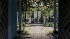 Villa Oivalas atriumgård