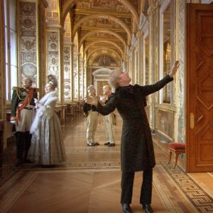 Kuva Aleksandr Sokurovin elokuvasta Venäjän arkki.