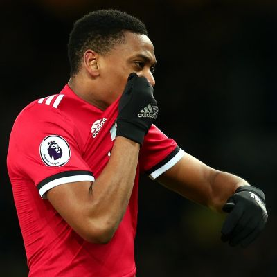 Anthony Martial firar mål.