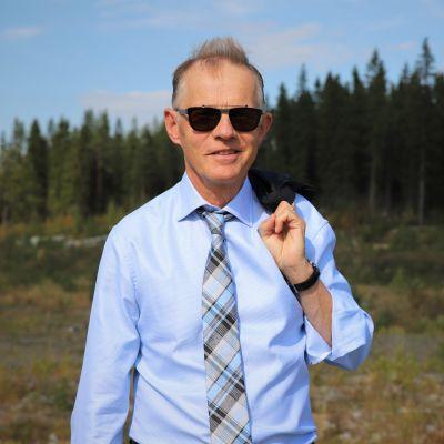 Finnpulpin toimitusjohtaja Martti Fredrikson