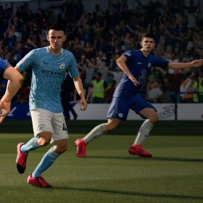 FIFA 21 -videopeli.