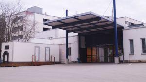 Mobilenhet vid jouren på Malmska i Jakobstad.