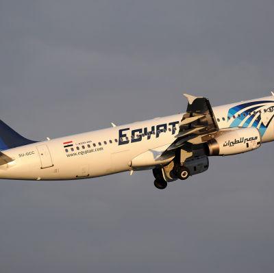 Det störtade passagerplanet var av samma typ som detta plan - en Airbus A320. Utredarna hoppas att de svarta lådorna kan ge svar på frågan om varför planet störtade