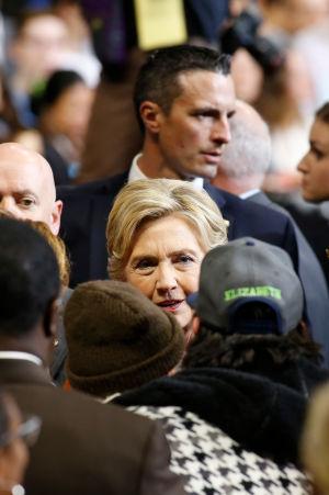 Hilalry Clinton 27 oktober 2016.