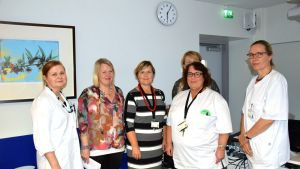 Personal vid Malms sjukhus