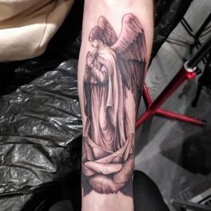 Tatuerad ängel