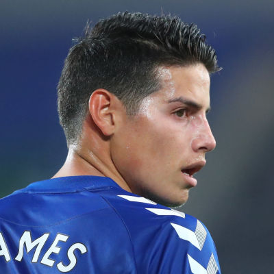 Evertons spelare James Rodriguez.