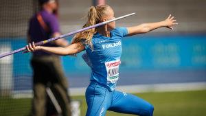 Elina Kinnunen, U23-EM 2019.