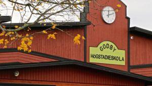 Godby högstadium på Åland.