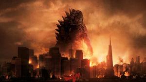 Godzilla tar över igen.