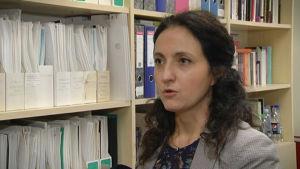 Professor Inga Jasinskaja-Lahti.