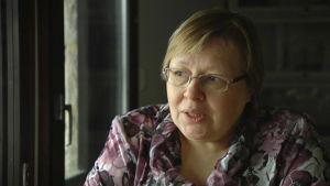 Olga Russkij är en återflyttad ingermanländare, som i dag bor i Helsingfors.