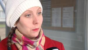 SDP:s riksdagsvalsandidat Anette Karlsson.