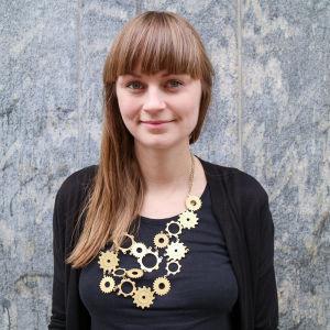 Johanna Nilsson som skrivit boken Slow fashion.