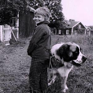 Maria Johansson som Tjorven i Olle Hellboms filmatisering av Astrid Lindgrens Vi på Saltkråkan.