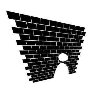 Muren är en symbol för hinder.
