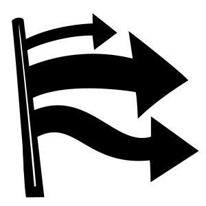 Symbol för opinion.