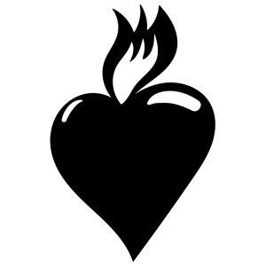 Hjärtat är en symbol för tro.