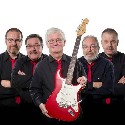The Re-Sounds, instrumentalband, Skellefteå, Jari Kesti, Ulf Forsström, Gösta Jonsson, Christer Olofsson, Thomas Ståhl