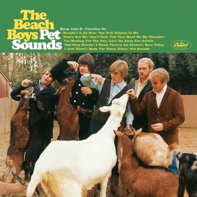 Omslaget till The Beach Boys skiva Pet Sounds