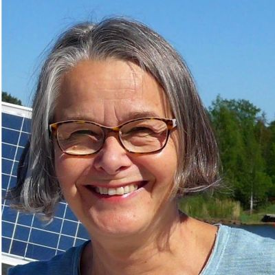 Skrivarkursledaren och författaren Åsa Stenvall-Albjerg.