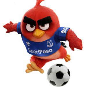 Angry Birds sponsrar Everton.