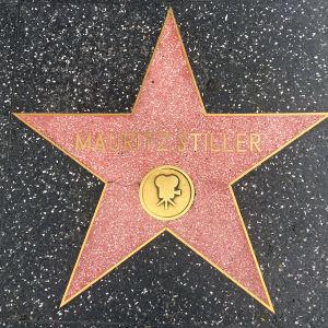 Mauritz Stillerin tähti Hollywoodin Walk of Famella