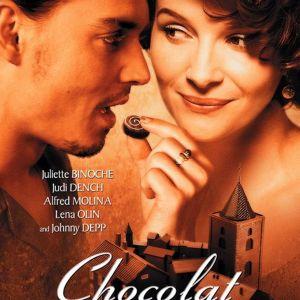 FIlmaffischen till Lasse Hallströms film Chocolat.