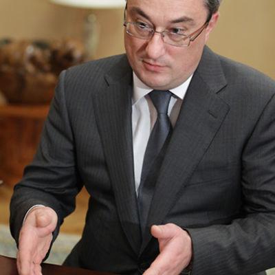 Den ryska republiken Komis guvernör Vjatjeslav Gajzer.