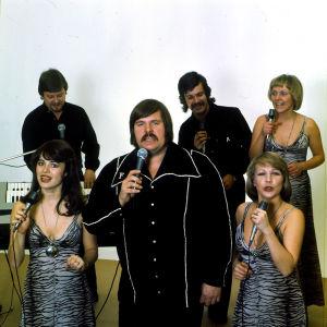Fredi ja Ystävät edustivat Suomea Euroviisuissa 1976