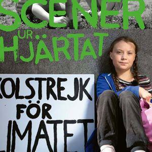 Skoleleven och miljöaktivisten Greta Thunberg kräver att Paris klimatavtal skall uppfyllas innan hon slutar klimatstrejka. 2018.
