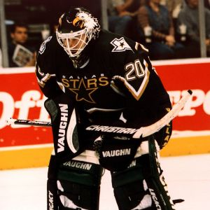 Ed Belfour representerade Dallas säsongen 1997–98.
