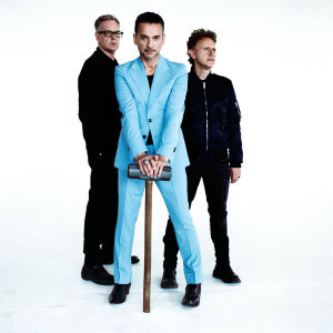 Depeche Mode -yhtye poseeraa. (pr-kuva)
