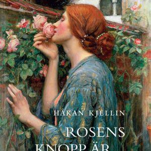 """Målningen """"Rosens själ"""" av den engelska konstnären John William Waterhouse pryder pärmen till Håkan Kjellins bok Rosens knopp är näktergalens hjärta."""