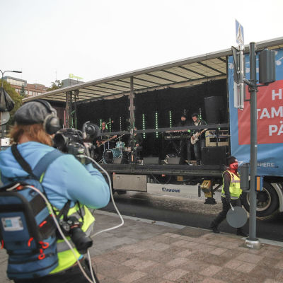 Live stream Tampereen päivästä