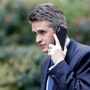 Storbritanniens avskedade försvarsminister Gavin Williamson