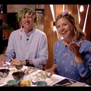 Mårten Svartström och Sonja Kailassaari