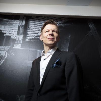 Olympiakomitean toimitusjohtaja Mikko Salonen