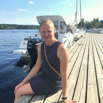 Savonlinnalainen kansanedustaja Hanna Kosonen