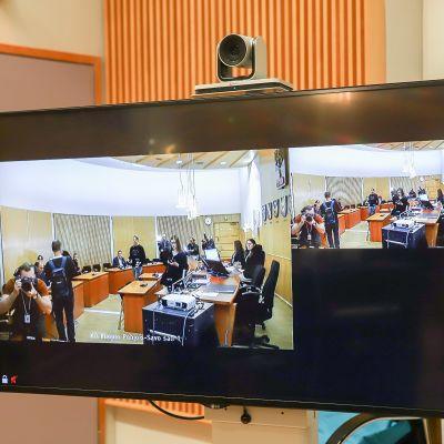 Pohjois-Savon käräjäoikeus videoyhteys sairaalaan
