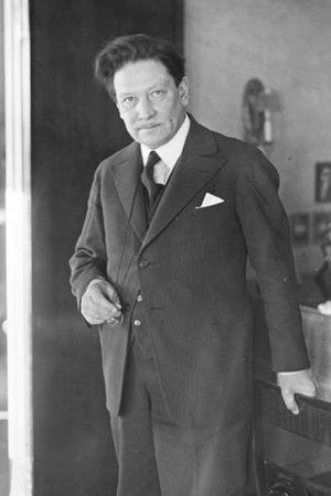 Säveltäjä, pianonsoiton lehtori Selim Palmgren 1934.