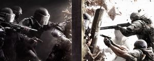 Tom Clancy's Rainbow Six: Siege on Ubisoftin kehittämä ja julkaisema ensimmäisen persoonan taktinen ammuntapeli.