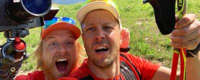 Tom ja Peltsi polkujuoksemassa