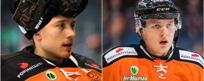 Målvakten Emil Larmi och anfallaren Kristian Vesalainen har även tidigare spelat för HPK.