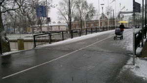 Snöslask i Salo