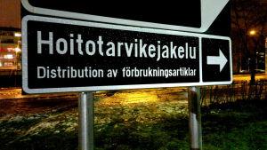 Vårdtillbehör distribueras nu genom en servicepunkt på Tallbacken.