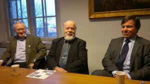 Roger Broo, Bengt Backman, Bertil Zetter