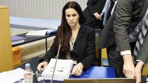 Åklagaren Pihla Keto-Huovinen som var en av åklagarna i fallet Jari Aarnio